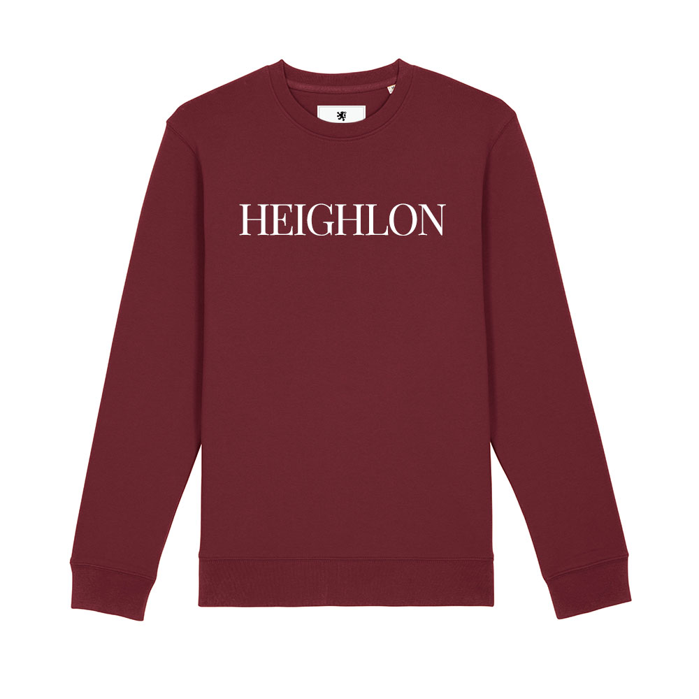 AETHEL – Burgundy Unisex Sweater