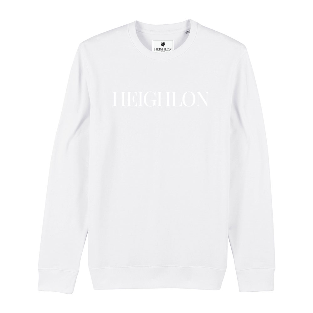 AETHEL – All White Unisex Sweater