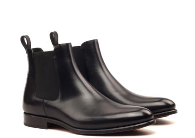 Chelsea Boot Classic - Box Calf Black-Ang5 (1)