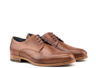 Derby - Painted Calf Med Brown-Lux Suede Med Brown-Ang5